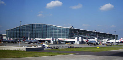 Terminal 5 of London Heathrow Airport
